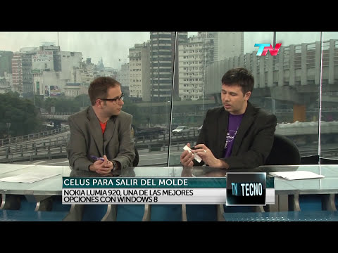 TN Tecno 198-2 Nokia 920 vs. Blackberry Z10