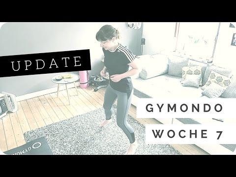 MINI UPDATE // Woche 7: Schlank in 10 Wochen - Gymondo