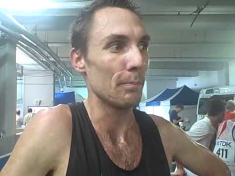 WC 2011 - LetsRun Interview with Nick Willis - Heats