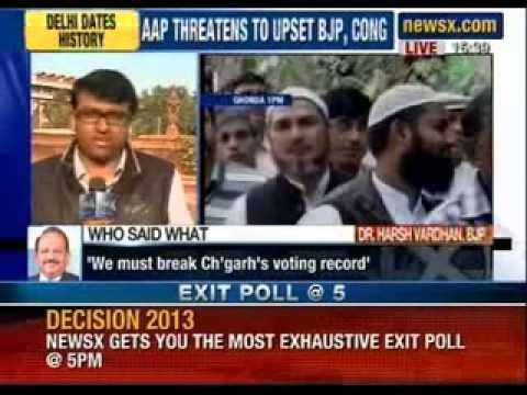 Delhi elections 2013: Record voter turnout in Delhi, 66% voting registered: EC - NewsX