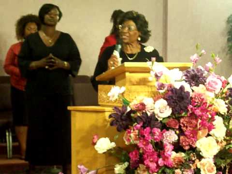 Prayer of Faith w/ District Elder Dr. Eulah M. Nelson Video