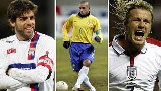Freekick Kings Juninho ● Beckham ● Roberto Carlos