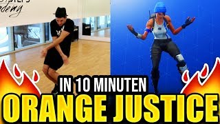 In 10 Minuten ORANGE JUSTICE lernen (Fortnite Tanz Tutorial)