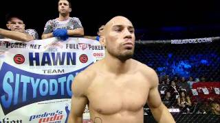 Bellator MMA Highlight: Rick Hawn Judo Throw TKO