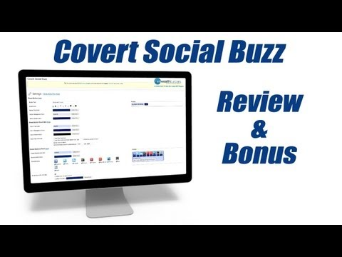 0 Covert Social Buzz Review   Review of Covert Social Buzz   Ray The Video Guy
