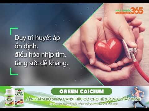 Green Caicium – Canxi hữu cơ cho hệ xương chắc khỏe