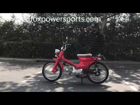 Redfoxpowersports review 50cc RTX Scooter Moped