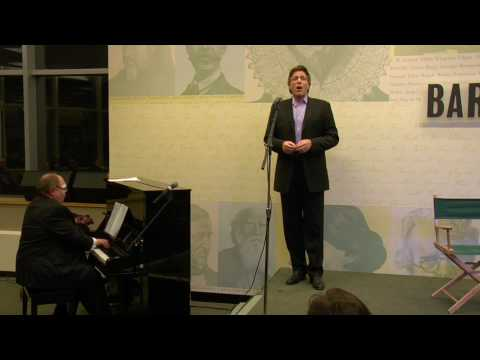 "Thomas Hampson performs ""Sure on this Shining Night"""