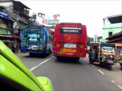 Kerala bus driving - awesome race video