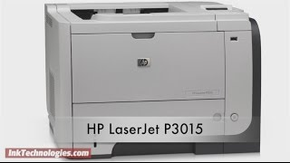 HP LaserJet P3015 Instructional Video
