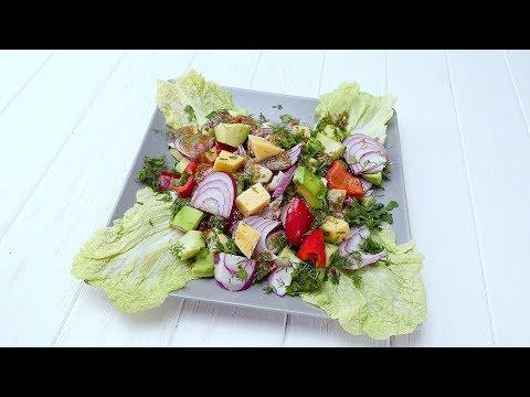 Салат с авокадо - Рецепты от Со Вкусом