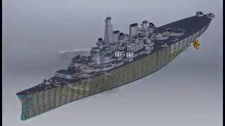 Turret Crawl  Battleship Iowa BB61