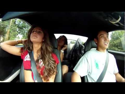 1000 hp Toyota Supra takes girls for a ride