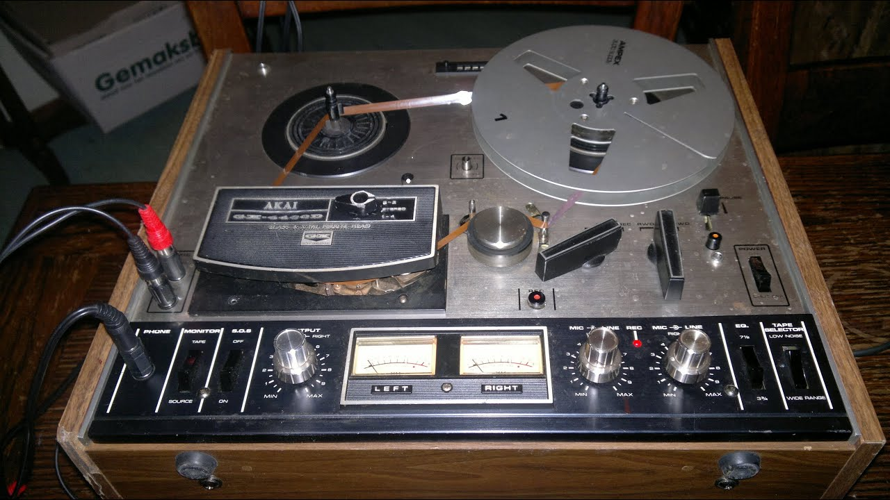 Delay Tape Tape Delay From Old Reel to
