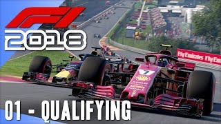 F1 2018 Multiplayer w/ Beef & Cone [01] For Real This Time!