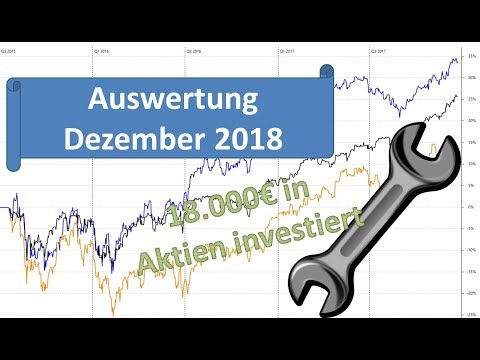 Dezember 2018 18.000€ in Aktien investiert 1500€ Dividende