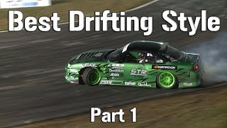 Best Drifting Style in Formula D? - Forrest Wang - Part 1