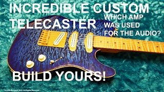 Custom Fender Telecaster How to make yours & guess the Amp I used on the Audio : tonymckenziecom