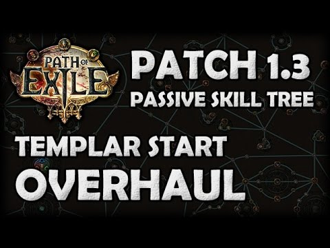 Path of Exile 1.3 Passive Skill Tree: Templar Overhaul. A Buff for Witch?