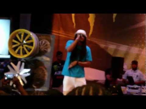 Kinfolk Kia Shine- Performing I'm So Krispy In Ocean City Maryland - Street Dreamers video