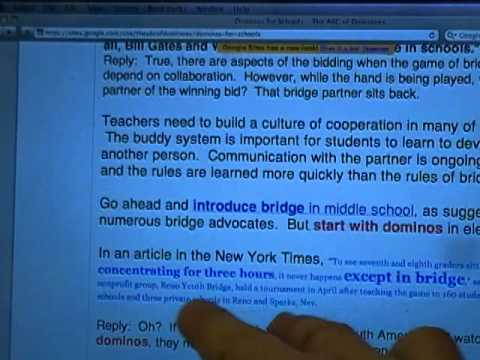 Dominoes Dominos for Schools Free Ebook share this video part 1 Mario and Steve