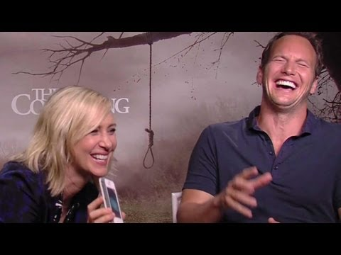Patrick Wilson & Vera Farmiga 'The Conjuring' Interview