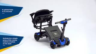 Drive Auto Folding 4 Wheeled Scooter