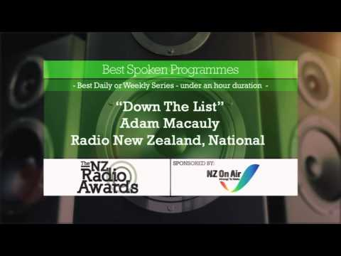 The 2013 NZ Radio Awards - Finalist Announcement Part 1