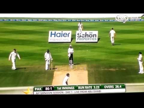 Mitch Johnson strangest cricket fielding position of all time vs Pakistan 2nd test
