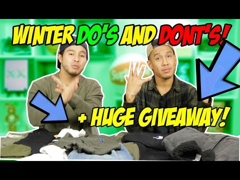 YAY OR NAY ON WINTER FASHION! + HUGE GIVEAWAY!