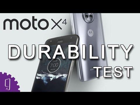 Moto X4 Durability Test | Screen Scratch Test | Screen Drop Test