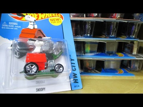 2014-U Factory Sealed Hot Wheels Case Unboxing Video