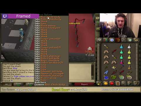 BEST RUNESCAPE TWITCH MOMENTS COMPILATION #244