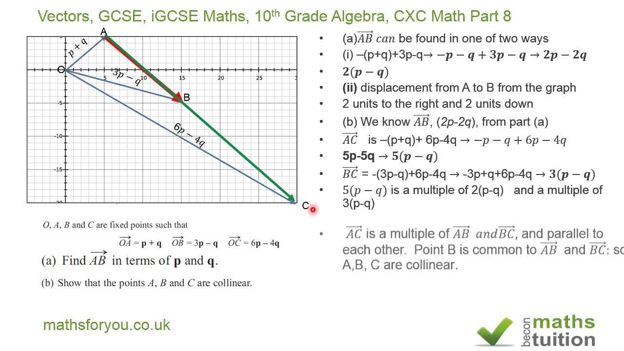 BBC Bitesize  GCSE Maths  Vectors  Edexcel  Revision 1