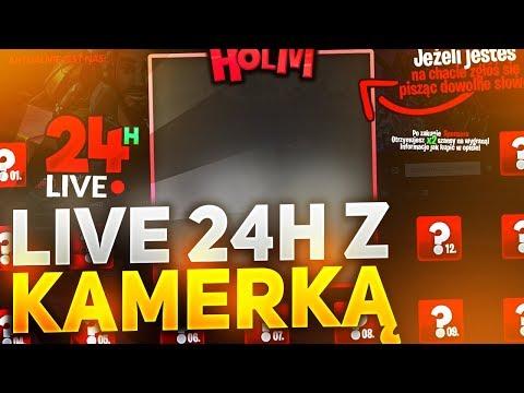 🔴 🏆 24H LIVE Z KAMERKĄ! KONKURS CO 2 GODZINY! 😎 | !sponsor, !donate, !superczat, !discord