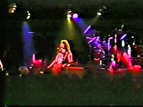Ace Frehley TALK TO ME KISS hit live at L'Amour 1994 Just For Fun tour Bill Baker gets a THANKS