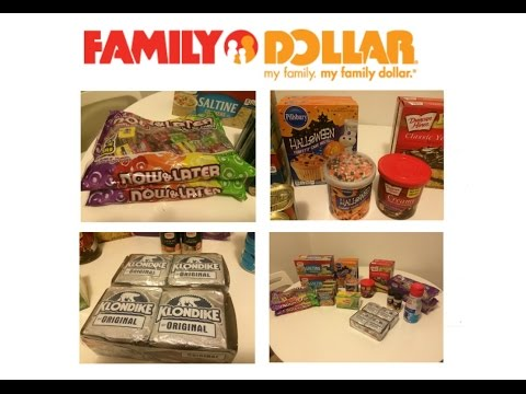 Small Haul At Family Dollar... (Food And Snacks) ONLY!