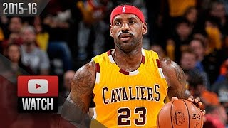 LeBron James Full Highlights vs Bucks (2015.11.19) - 27 Pts, 9 Reb, 6 Ast