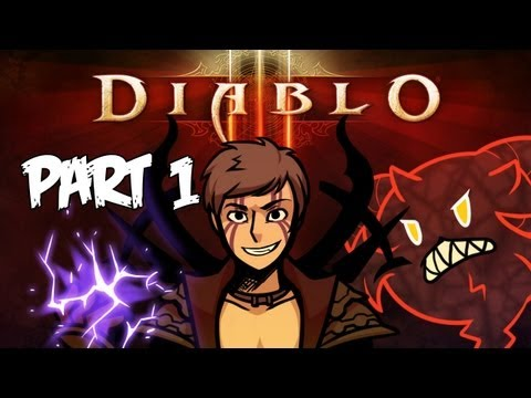 Diablo 3 – Gameplay Walkthrough – Part 1 – Intro – IT'S HERE!! (PC/Mac Commentary) [HD]
