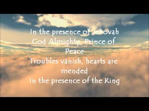 In The Presence Of Jehovah With Lyrics video