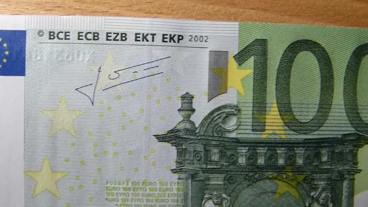100 euro bill banknote review youtube for Wohnwand 100 euro