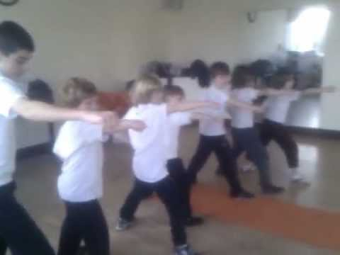 Kung Fu for Children:Basic Punch, Praying Mantis Style Image 1