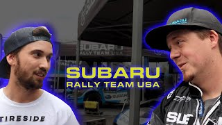 Interview w/ Subaru Rally Team at Oregon Trail Rally 2018