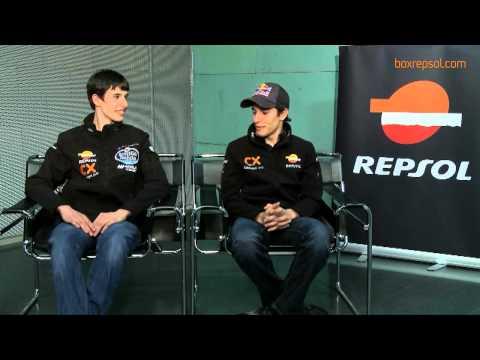 Entrevista Box Repsol a Marc y Alex Márquez 2012 (HD)