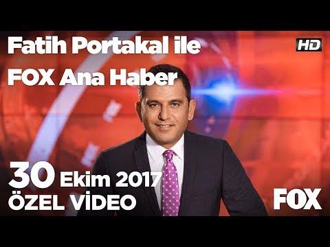 CHP ve AK Parti arasında Faşist polemiği...30 Ekim 2017 Fatih Portakal ile FOX Ana Haber