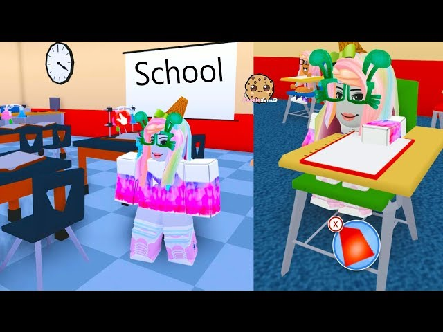New Girl In School - Meep City Roblox Online Game Play Video - Cookie Swirl thumbnail