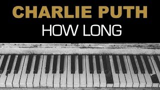 Download Lagu [Vietsub + Lyrics] How Long - Charlie Puth Gratis STAFABAND
