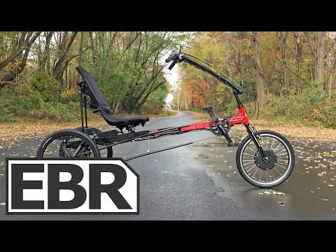 Sun Seeker Eco Delta Electric Trike Video Review - Comfortable & Cheap