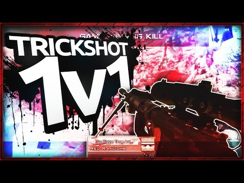 TRICKSHOT RACE! ~ ft. One Fall ~ MW2