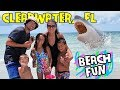 (FUNnel Vision) Fun @ Clearwater Beach! July 2014 FL Trip Part 1 @ Sand Key